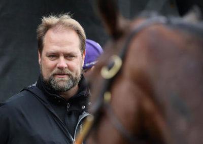 Top TB Trainer, Doug O'Neill